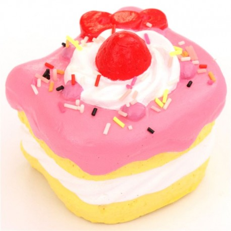 Adorable Hello Kitty cake bow squishy - Cute Squishy Shop