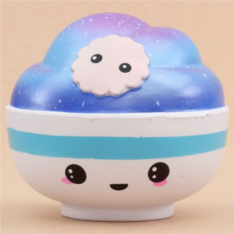 May Kawaii Squishy And Slime : Adorable Connie jumbo galaxy bowl scented squishy - Cute Squishy Shop