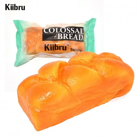Squishy Bread Loaf : scented big brown Jumbo English bread loaf squishy by Kiibru - Cute Squishy Shop