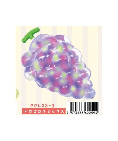 Squishy Jelly : colorful grape squishy with jelly pearl filling - Cute Squishy Shop