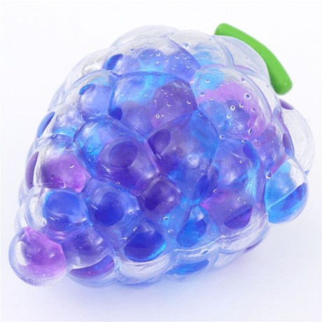 Squishy Jelly : blue-purple grape squishy with jelly pearl filling - Cute Squishy Shop
